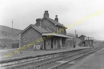 Blaenavon High Level Railway Station Photo. Waenavon to Pontypool. LNWR. (5)