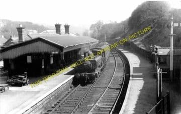 Blaenavon Low Level Railway Station Photo. Abersychan and Pontypool Line. (1)..