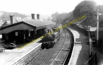 Blaenavon Low Level Railway Station Photo. Abersychan and Pontypool Line. (1)..