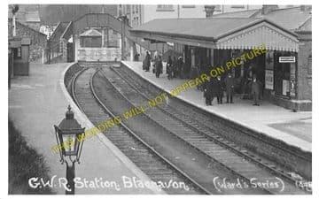 Blaenavon Low Level Railway Station Photo. Abersychan and Pontypool Line. (2)