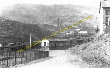 Blaengarw Railway Station Photo. Pontcymmer - Abergwynfi. Cymmer Line. (2)