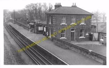 Blake Hall Railway Station Photo. Ongar - North Weald. Epping Line. (4)
