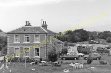 Blake Hall Railway Station Photo. Ongar - North Weald. Epping Line. (7)