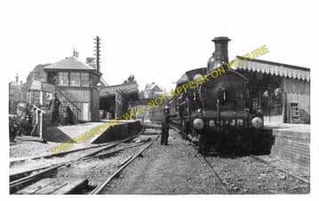 Blandford Forum Railway Station Photo. Shillingstone - Spetisbury. S&DJR. (2)