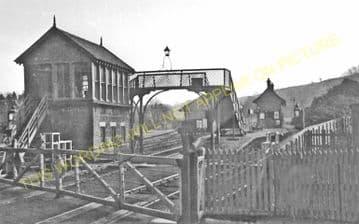 Blanefield Railway Station Photo. Dumgoyne - Strathblane. Killearn to Lenzie (1)..