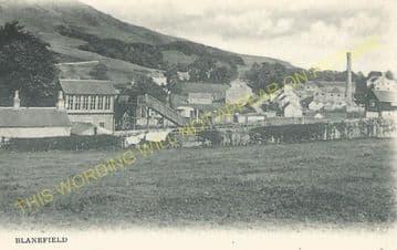 Blanefield Railway Station Photo. Dumgoyne - Strathblane. Killearn to Lenzie (4)