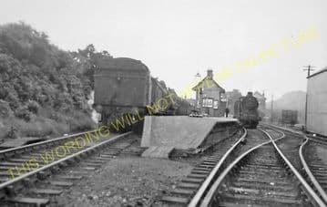 Blanefield Railway Station Photo. Dumgoyne - Strathblane. Killearn to Lenzie (5)