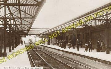 Blaydon Railway Station Photo. Ryton to Derwenthaugh and Scotswood Lines. (3)