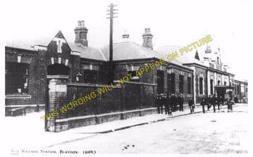 Blaydon Railway Station Photo. Ryton to Derwenthaugh and Scotswood Lines. (4)
