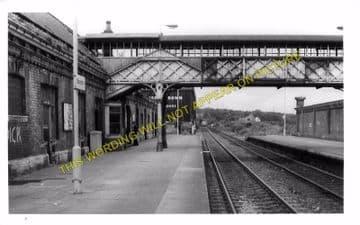 Blaydon Railway Station Photo. Ryton to Derwenthaugh and Scotswood Lines. (5)