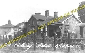 Bledlow Railway Station Photo. Princes Risborough - Thame. Oxford Line. GWR (1)..