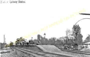 Bledlow Railway Station Photo. Princes Risborough - Thame. Oxford Line. GWR (6)