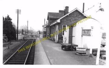 Bledlow Railway Station Photo. Princes Risborough - Thame. Oxford Line. GWR (9)