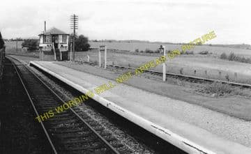 Blencow Railway Station Photo. Penrith - Penruddock. Keswick Line. (1)