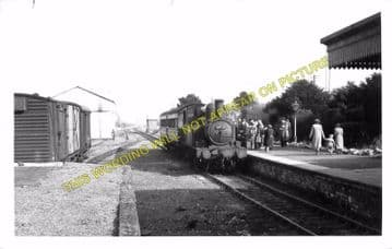 Blenheim & Woodstock Railway Station Photo. Kidlington and Oxford Line. GWR (11)