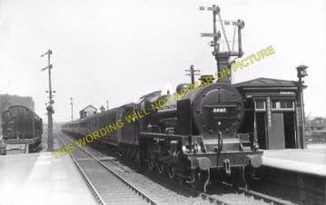 Bletchley Railway Station Photo. Leighton Buzzard - Milton Keynes. L&NWR (11)
