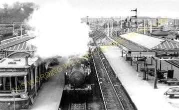 Bletchley Railway Station Photo. Leighton Buzzard - Milton Keynes. L&NWR (12)