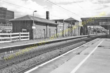 Bletchley Railway Station Photo. Leighton Buzzard - Milton Keynes. L&NWR (24)