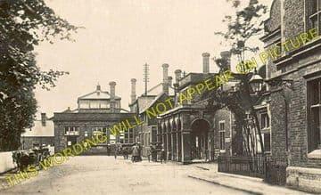 Bletchley Railway Station Photo. Leighton Buzzard - Milton Keynes. L&NWR (7)