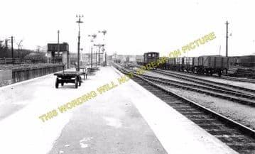 Blisworth Railway Station Photo. Towcester Line. Stratford-on-Avon & Midland (4)