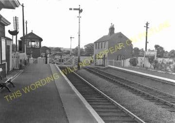Blockley Railway Station Photo. Campden - Moreton-in-Marsh. Evesham Line. (3)
