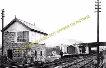 Blodwell Junction Railway Station Photo. Llynclys - Llangynog. Tanat Valley. (2)