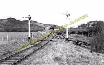 Blodwell Junction Railway Station Photo. Llynclys - Llangynog. Tanat Valley. (3)