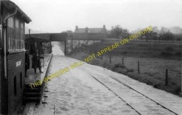 Blodwell Junction Railway Station Photo. Llynclys - Llangynog. Tanat Valley. (4)