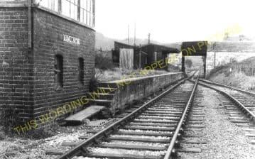 Blodwell Junction Railway Station Photo. Llynclys - Llangynog. Tanat Valley. (7)