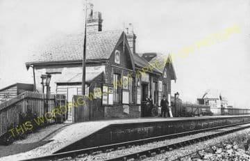 Bluestone Railway Station Photo. Aylsham - Corpusty & Saxthorpe.. M&GNR. (2).