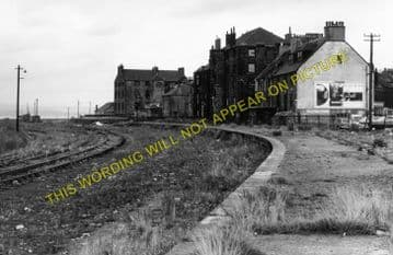 Bo'ness Railway Station Photo. Kinneil - Bridgeness. Manuel Line. NBR. (1)