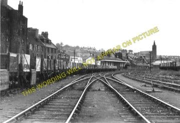 Bo'ness Railway Station Photo. Kinneil - Bridgeness. Manuel Line. NBR. (4)