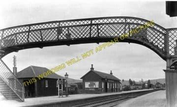 Boat of Garten Railway Station Photo. Aviemore to Broomhill and Nethy Bridge (3)..