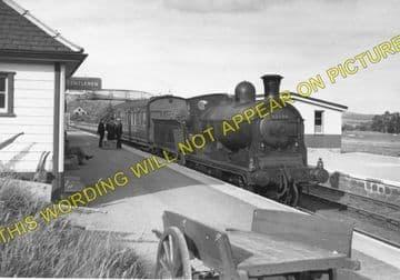 Boat of Garten Railway Station Photo. Aviemore to Broomhill and Nethy Bridge (4)