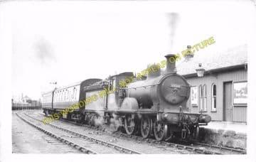 Boat of Garten Railway Station Photo. Aviemore to Broomhill and Nethy Bridge (5)