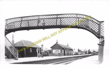 Boat of Garten Railway Station Photo. Aviemore to Broomhill and Nethy Bridge (8)