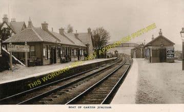 Boat of Garten Railway Station Photo. Aviemore to Broomhill and Nethy Bridge (9)