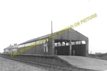 Boddam Railway Station Photo. Cruden Bay, Pitlurg and Ellon Line. GNSR. (1)