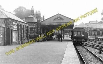 Bodmin North Railway Station Photo. London & South Western Railway (1)..