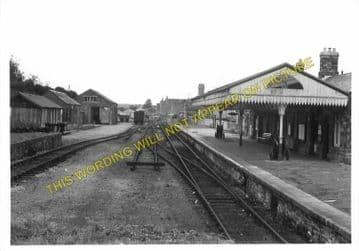 Bodmin North Railway Station Photo. London & South Western Railway (11)