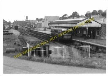 Bodmin North Railway Station Photo. London & South Western Railway (15)
