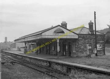 Bodmin North Railway Station Photo. London & South Western Railway (17)