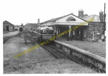 Bodmin North Railway Station Photo. London & South Western Railway (19)