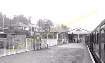Bodmin North Railway Station Photo. London & South Western Railway (20)