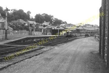 Bodmin North Railway Station Photo. London & South Western Railway (23)