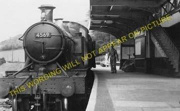 Bodmin Road Railway Station Photo. Doublebois - Lostwithiel. Liskeard to Par (1)
