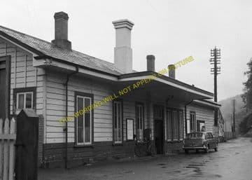 Bodmin Road Railway Station Photo. Doublebois - Lostwithiel. Liskeard to Par (11)