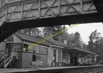 Bodmin Road Railway Station Photo. Doublebois - Lostwithiel. Liskeard to Par (12)