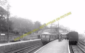 Bodmin Road Railway Station Photo. Doublebois - Lostwithiel. Liskeard to Par (18)