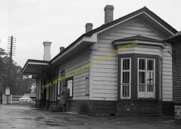 Bodmin Road Railway Station Photo. Doublebois - Lostwithiel. Liskeard to Par (20)